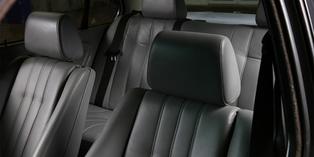 BMW E30 Ledersitz