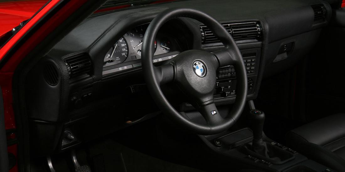 BMW E30 Innenausstattung Leder